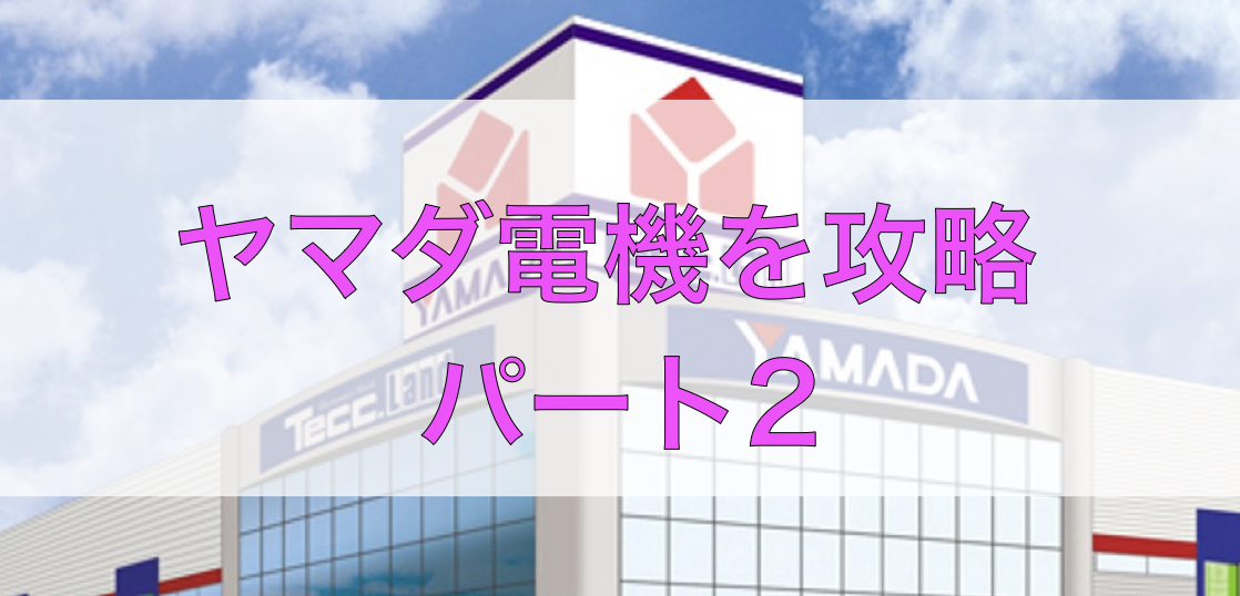 【店舗せどり】ヤマダ電機攻略法②